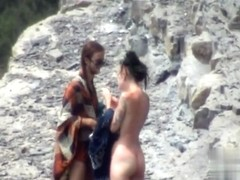 Nude Beach. Voyeur Video 290