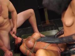 Hottest pornstars Alexa Pierce, Esmi Lee in Amazing Hardcore, BDSM xxx clip