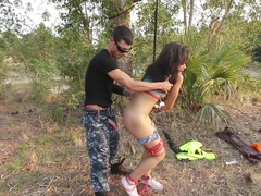 Horny pornstar Adrian Maya in Best Fetish, Outdoor adult scene