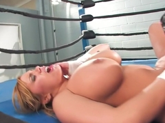 Horny pornstar Shyla Stylez in hottest blonde, big ass sex clip