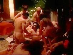 Black Couple White Orgy