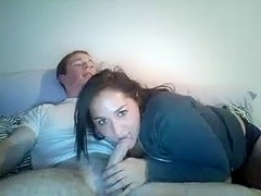 webcam young 18yo Brit and his big boob friend