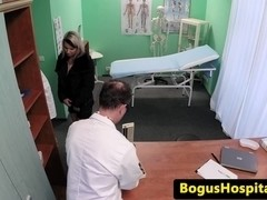 Hospital patient fucked in a paddling ###l
