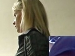 Thrilling voyeur upskirt footage
