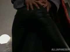 Mao Hamasaki amazing Asian milf in kinky cosplay sex