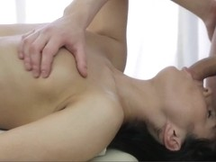 Beautiful Teen Loves Soothing Massage Fuck