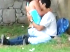 Public sex tryout in the local park