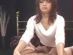 Incredible Japanese whore Ririka Hayama in Amazing Fingering, Voyeur JAV scene