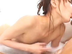 Crazy Japanese whore Miyu Misaki in Best Showers JAV scene