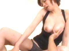 Amazing Japanese slut Nao Mizuki in Incredible Handjobs, Blowjob/Fera JAV video