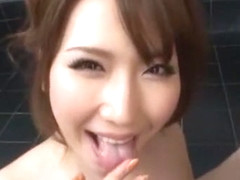 Amazing Japanese chick Risa Kasumi, Ai Sayama, Ai Takeuchi in Fabulous POV, Big Tits JAV clip