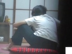 The petite Asian girl masturbation ecstasy on the cam