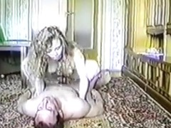 Mature russian couple old homemade sextape from 1994