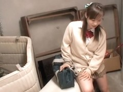 Sweet Japanese babe blows a boner in spy cam sex video
