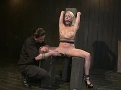 Lorelei Lee returns to Device Bondage to test her limits of pain and pleasure!