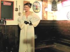Burlesque Strip SHOW 005 Naked Act Lucky Minx
