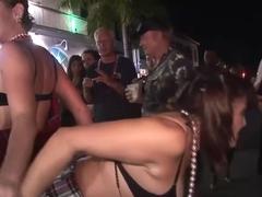 Amazing pornstar in crazy voyeur, group sex porn clip