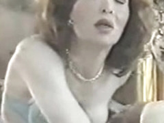 Vintage tranny movie with hot anal fuck