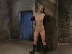 Sexy, tall, long legged, tan girl next doorBrutal bondage, neck rope, breath play, made to come!