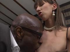 Best pornstars Rocco Siffredi, Nadia Bella in Crazy Stockings, Anal porn scene