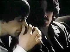 Vintage homosexual slutty behaviour in the backrow of a cinema