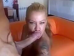 tattooed milf alexa blun gets fucked in her face hole