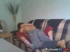 Teen Couple Having Sex