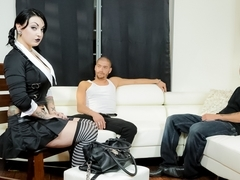 Mr.Pete & Draven Star & Xander Corvus in Very Adult Wednesday Addams - Apartment Hunt Scene