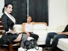 Mr.Pete & Draven Star & Xander Corvus in Very Adult Wednesday Addams - Apartment Hunt Scene