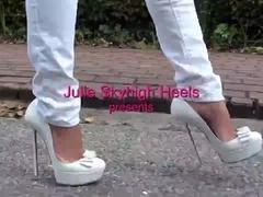 The highest heels of Julie Skyhigh