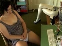 cute honey masturbating