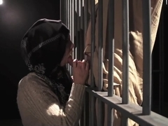 Tara Lynn Fox sucking Muslim cock in Homeland porn parody