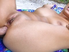 Jessi Lopez in Latina Does Poolside Anal - LetsTryAnal