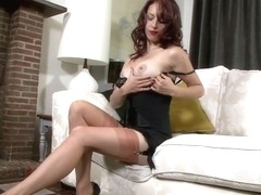 Jessica Pressley Open bottom girdle angel!