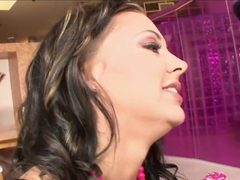 Ivy Winters wraps her moist lips round this huge dick