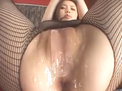 Exotic Japanese whore Yui Matsuno in Incredible Stockings/Pansuto JAV movie