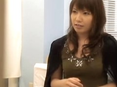 Delicious Japanese dicked silly during a Gyno exam