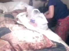 Hidden cam in my mom bedroom