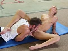 Best pornstar Jessa Rhodes in Crazy Blonde, Cunnilingus sex video