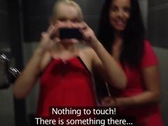 Amazing pornstars Micha, Abby Bynes in Fabulous Fingering, Showers sex video