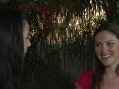 Best pornstars Samantha Ryan, Jelena Jensen in Incredible Fingering, Big Tits porn movie