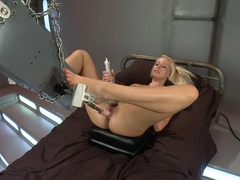 Exotic fetish xxx scene with amazing pornstar Vanessa Cage from Fuckingmachines