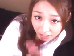 Hottest Japanese whore in Horny Blowjob/Fera JAV scene