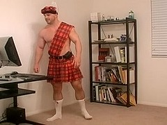 Scottish Kilt Man
