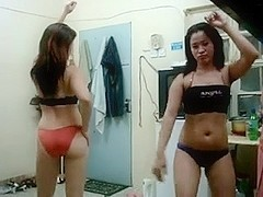 pinay gals dancing