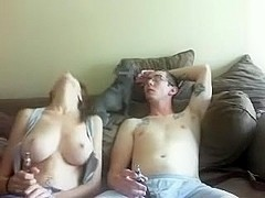 Horny Fat Asian Fuck friend from work sucking my cock