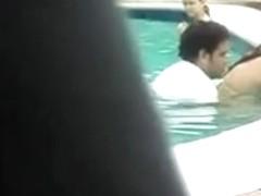 sex in a public pool