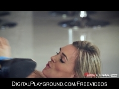 Hot wife Tanya Tate is eaten out and drilled by aged chap