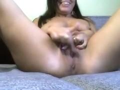 Karamella11 caressing her clit
