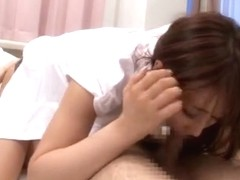 Foxy Japanese teacher Shunka Ayami enjoys toy insertion